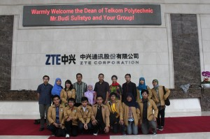 Kunjungan Industri 2012 ZTE HQ Shenzhen China